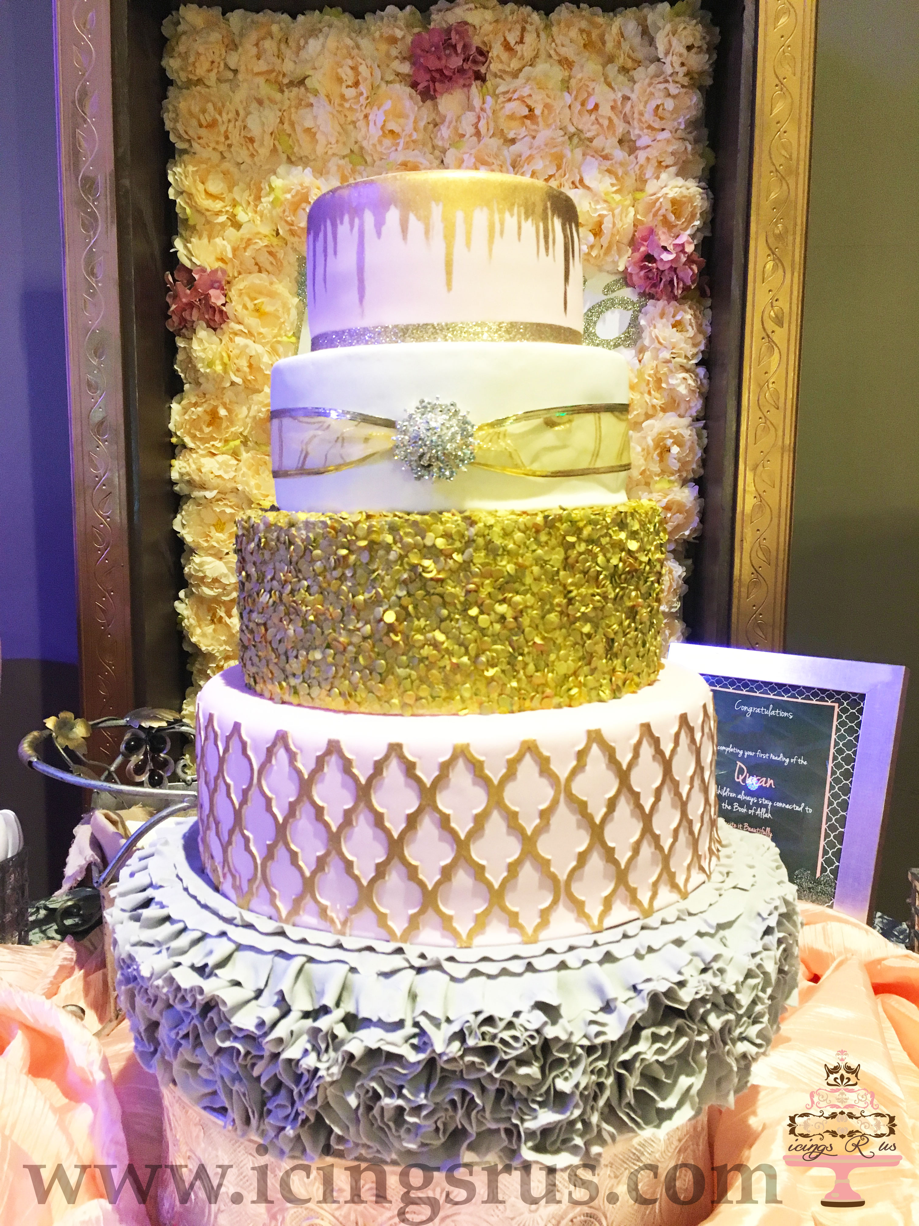 icingsrus-Blush-and-gold-5-tier-wedding-cake