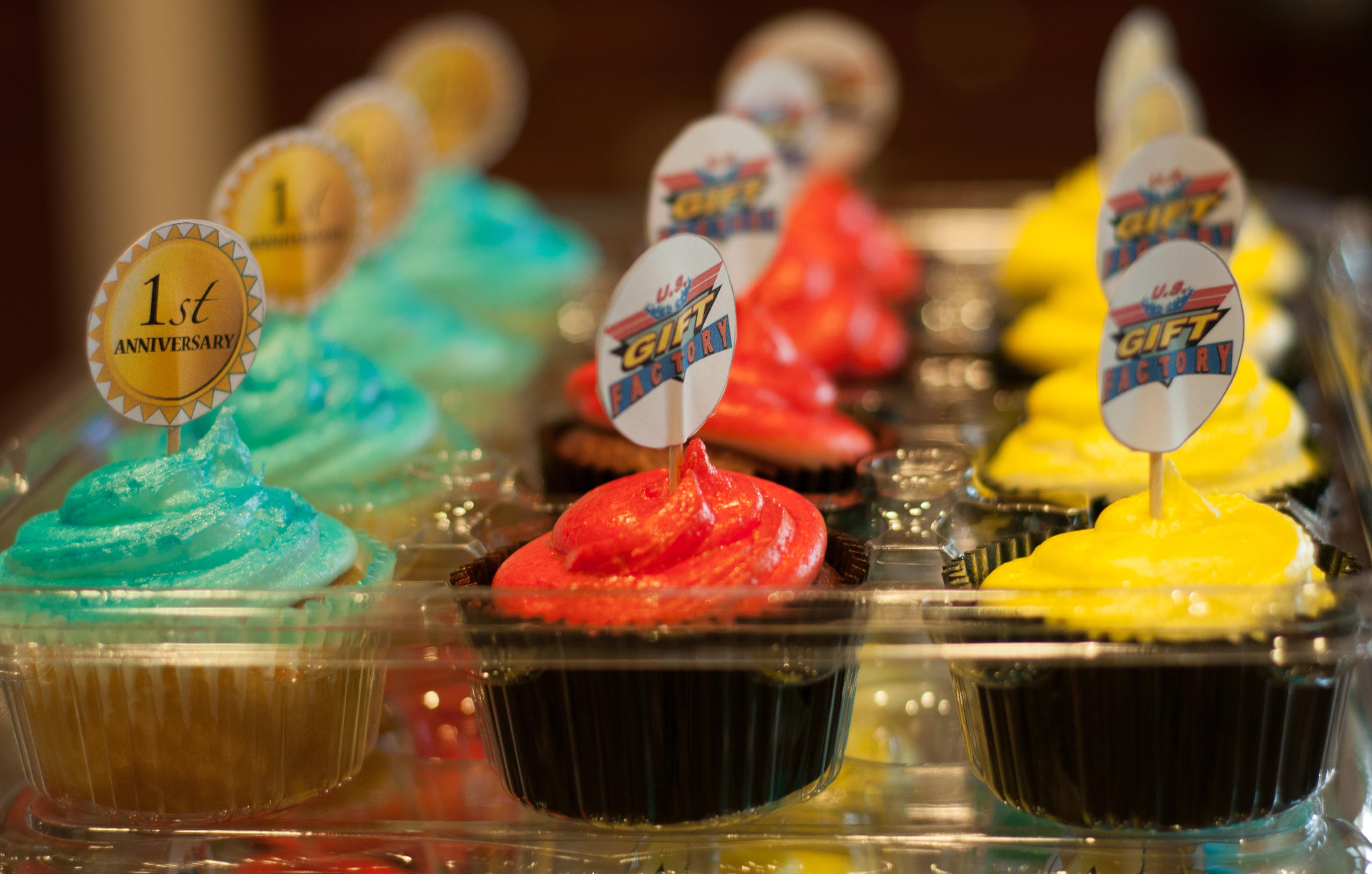 US Gift Shop Cupcakes