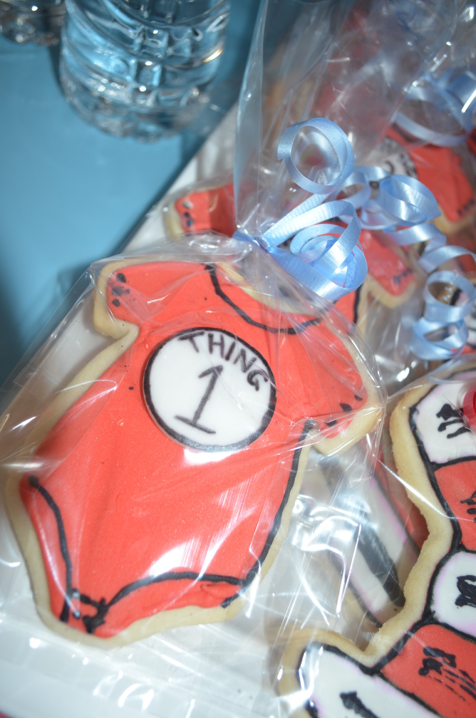 Thing 1 Shirt Cookies
