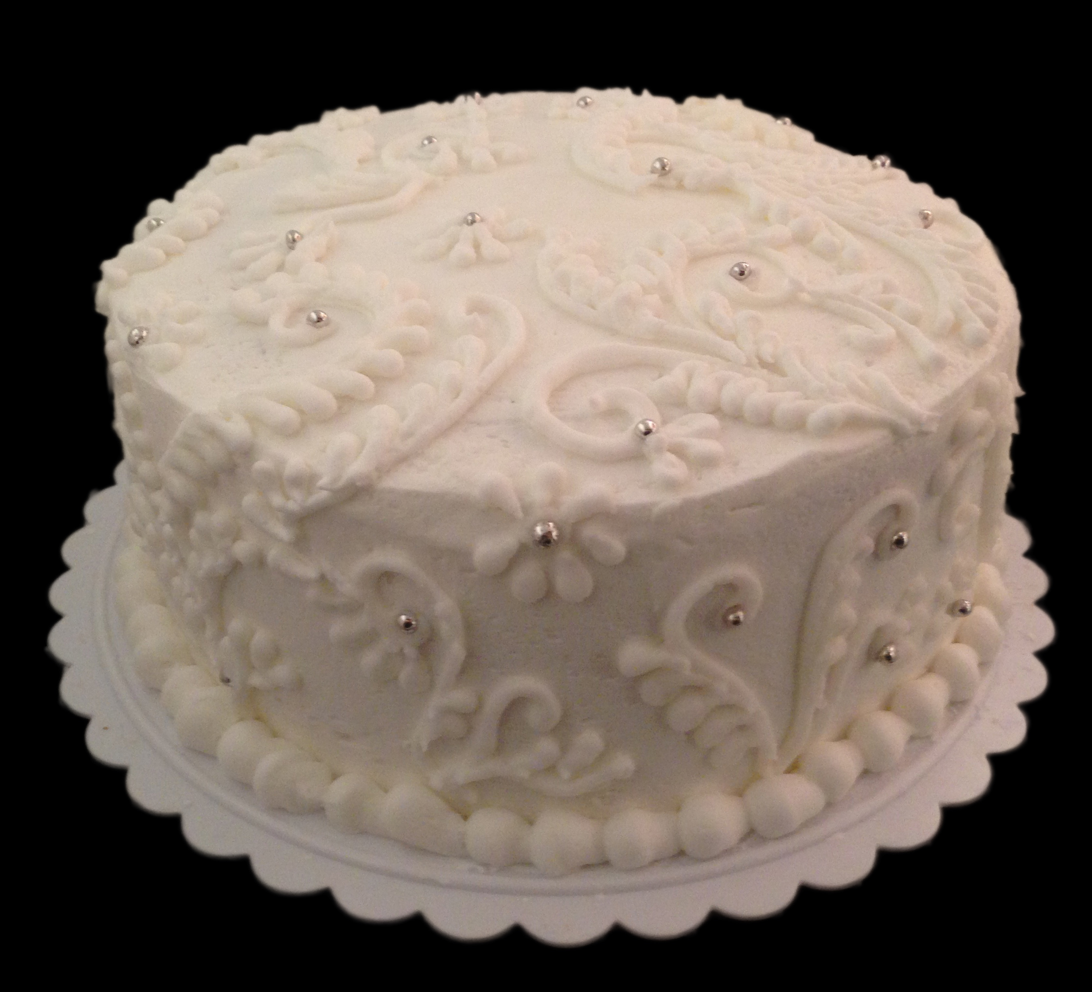 icingsrus-white-buttercream-piped-cake