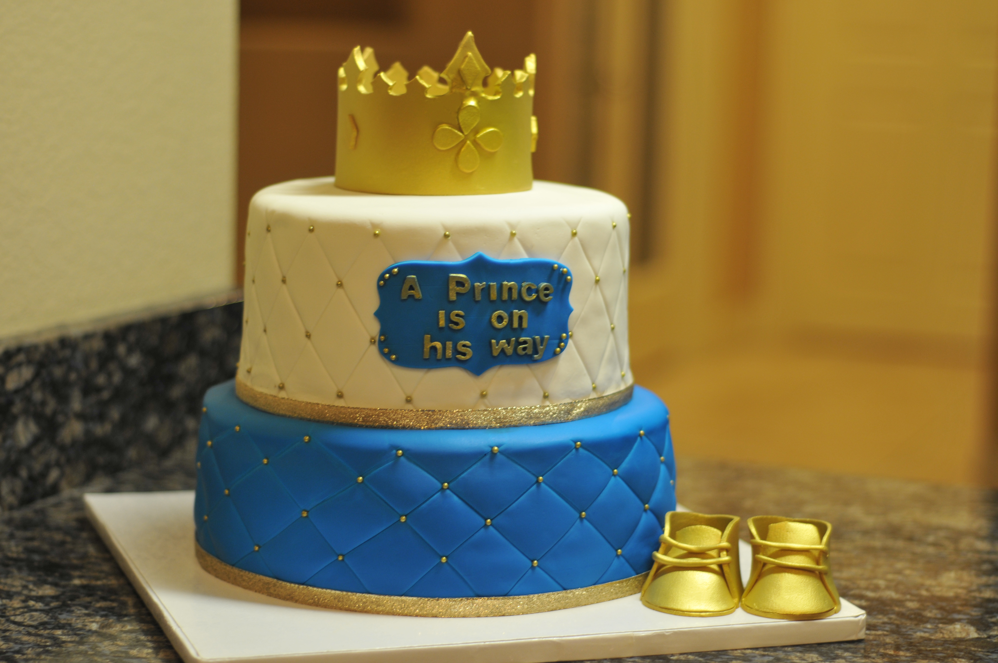 Fit for a Prince Cake