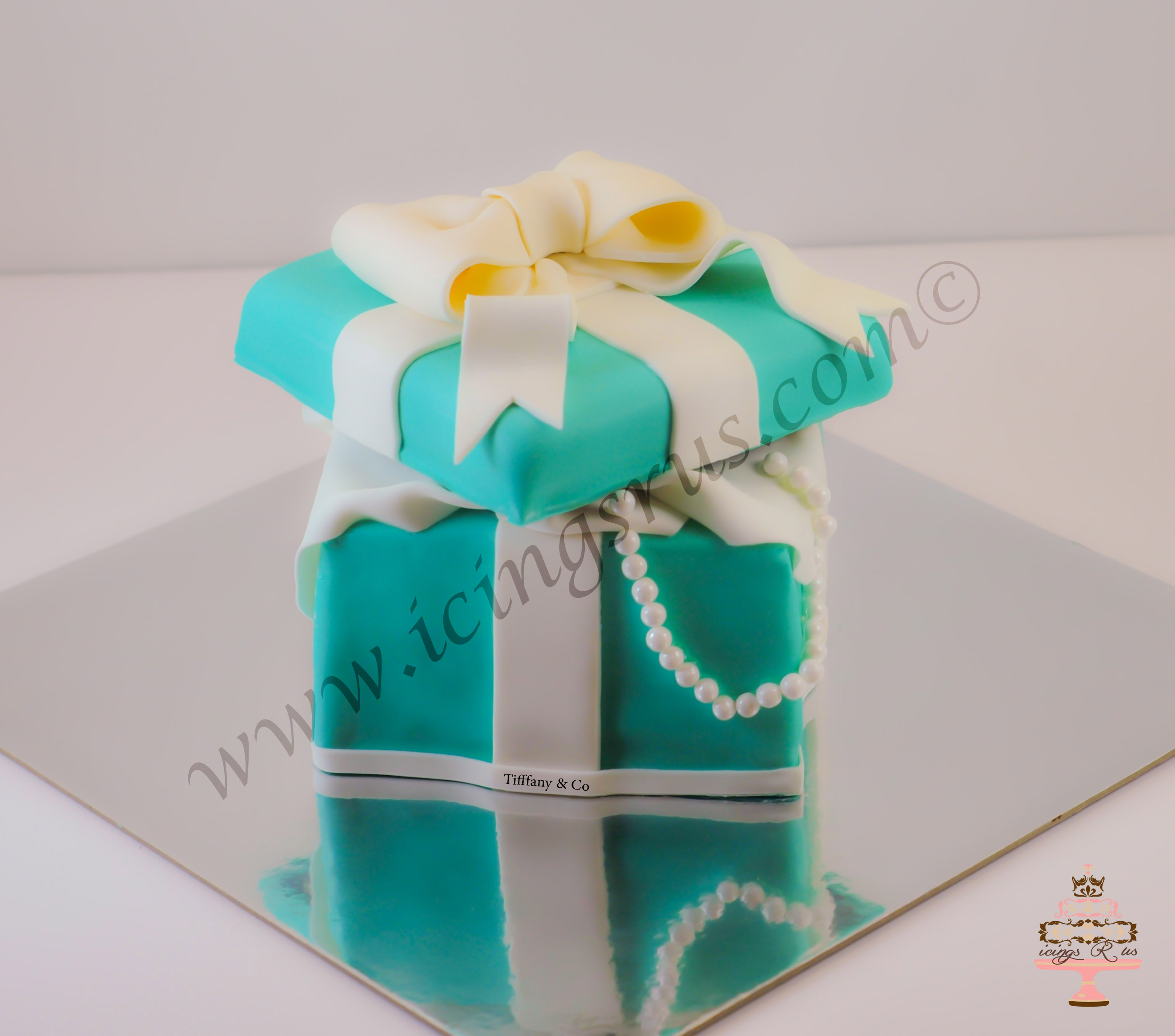 Tiffany Box Cake Icings R Us