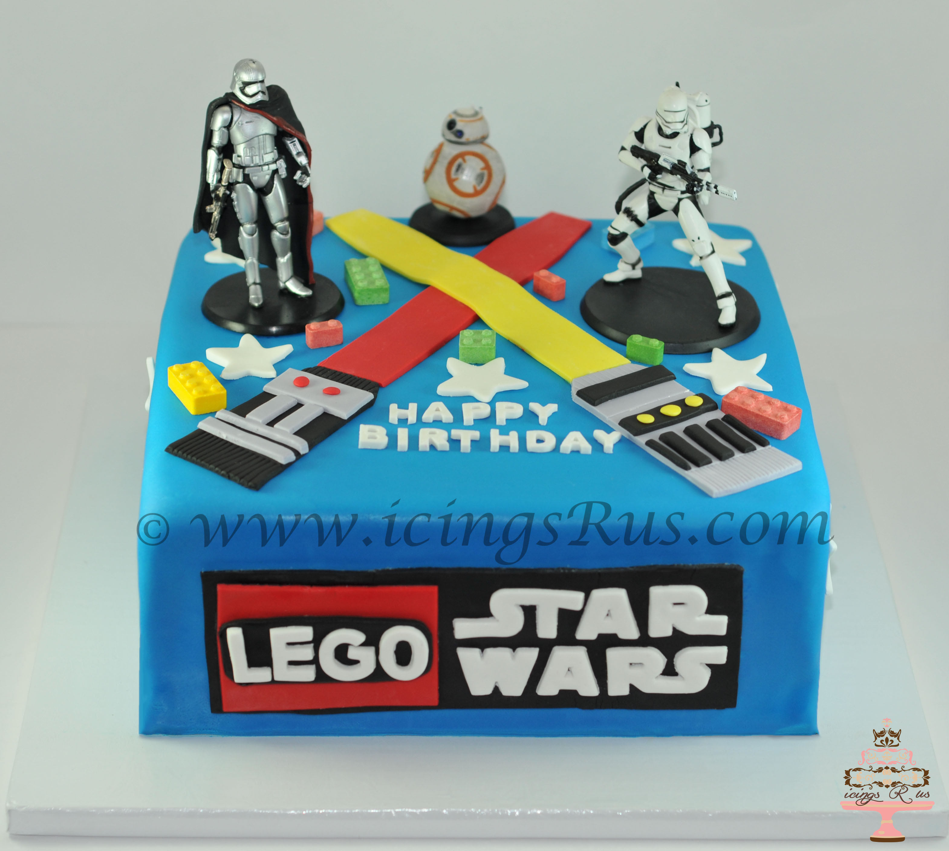 Lego-Star-Wars-Birthday-Cake